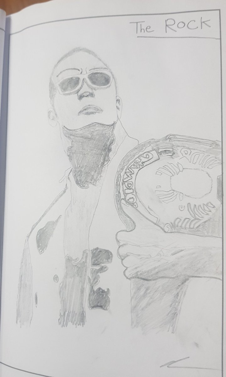 @TheRock @SevenBucksProd @WWE Can I get a people's eyebrow for my drawing of you? #SaturdayMorning #art #drawing #THEROCK #DwayneJohnson #SevenBucksProductions #WWE #Requests #WeWillMeetAgain