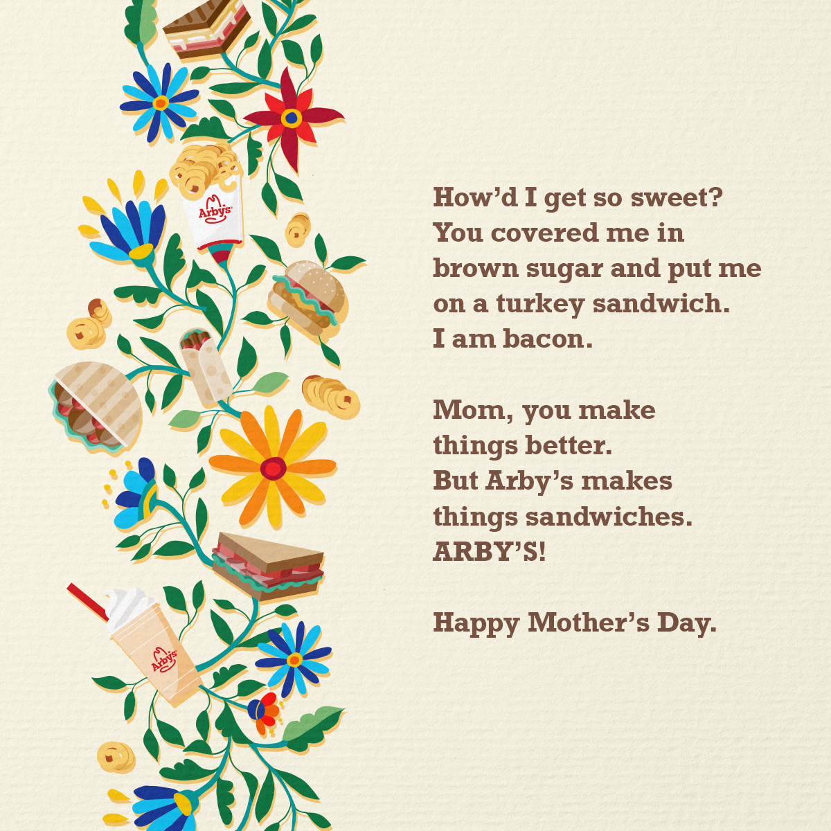 We forced a bot to watch our TV commercials and then made it write a #MothersDay card. Here's what it came up with… https://t.co/XTC9qcLfnQ
