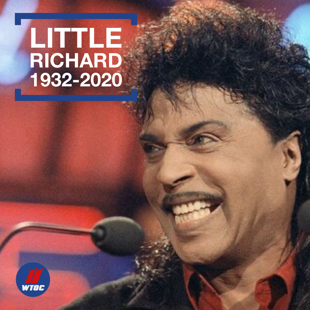 "Macon native ""Little Richard"" has died at age 87. ->"