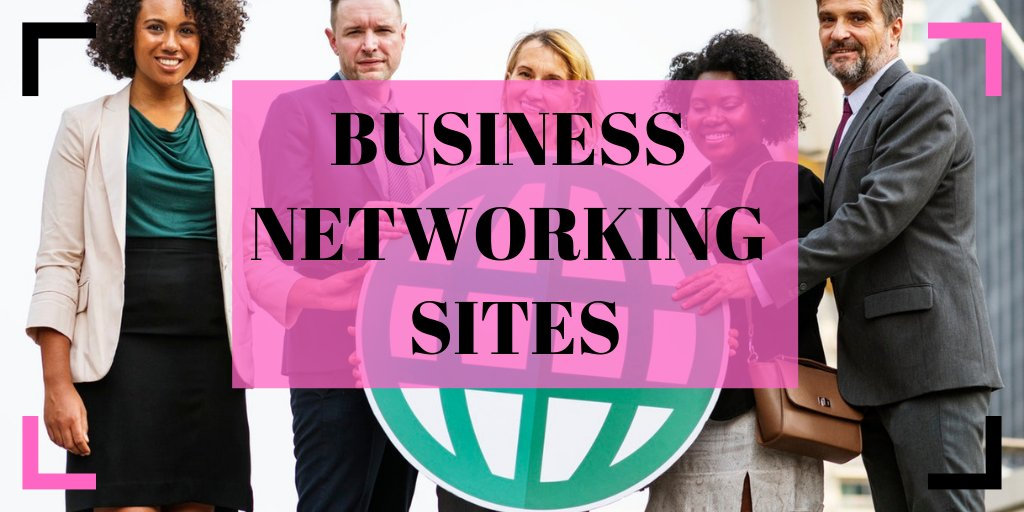 Top Business #Networking Sites  https://t.co/4jgDLreOxx  #BusinessNetworking #LinkedIn #AngelList #Plaxo #Quibb #Network https://t.co/vy70jB1W27