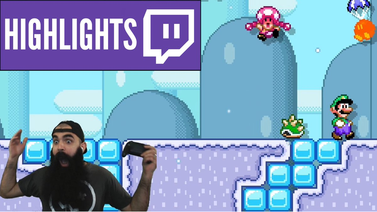 10 straight minutes of me being an idiot in VS: youtube.com/watch?v=AUCmlX… #SuperMarioMaker2