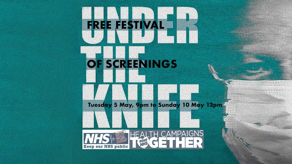 We think it's still our NHS - it isn't. The Health and Social Care Act 2012 turned the NHS into a franchise - an engine designed to push contracts into the market. UTK exposes how the NHS is being sold off bit by bit. Watch it here 👉vimeo.com/360850524 ENDS 🕛 tomorrow!
