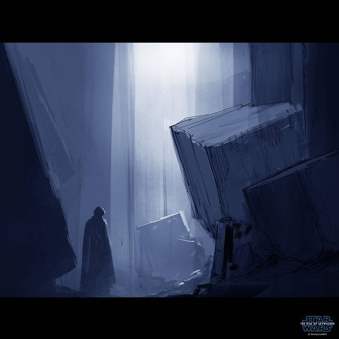 Phil Szostak On Twitter Kylo On Exegol Concept Artist Bob Cheshire Starwars Theriseofskywalker Https T Co Svwoznwv0j