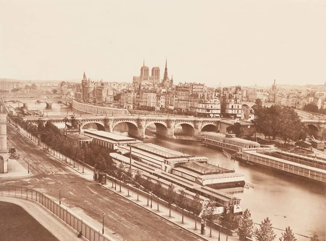 Paris, 1850s.