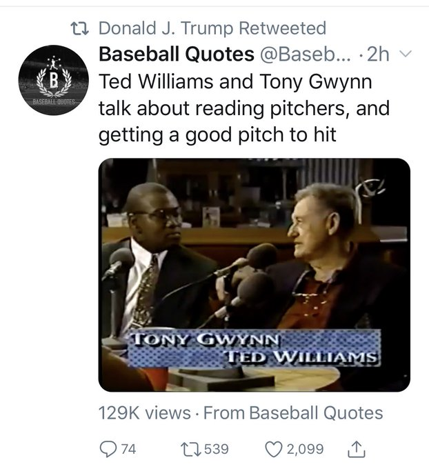Even our President knows how awesome Tony Gwynn was. Happy Birthday Mr. Padre.