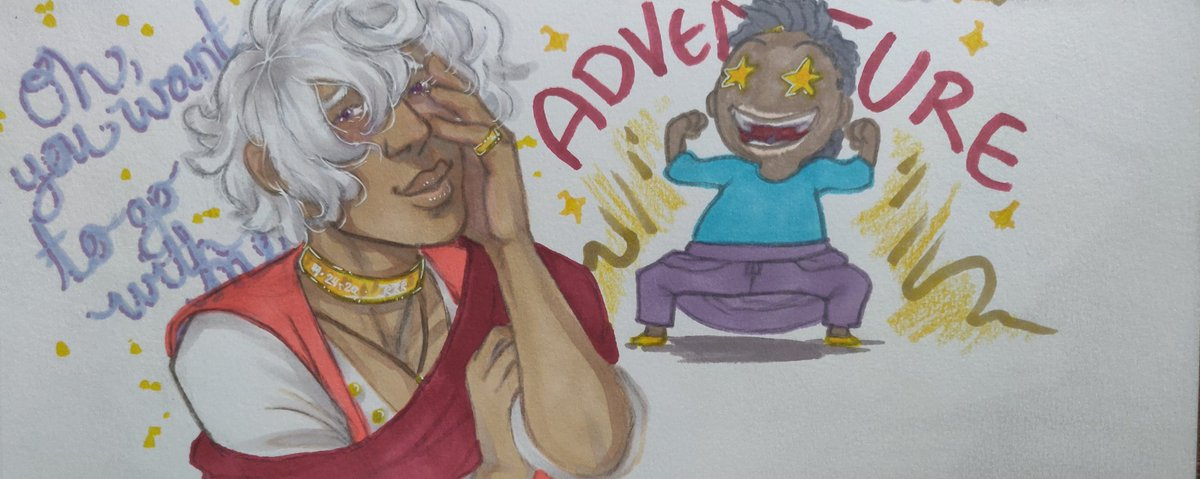 Today is more special art for https://youtu.be/3uKhdzQy4LQ and @LiesScandal on their #thearcanagame run! Check 'em out! #thearcanaasra #asraalnazar #traditionalartpic.twitter.com/FO9KzKtJBy