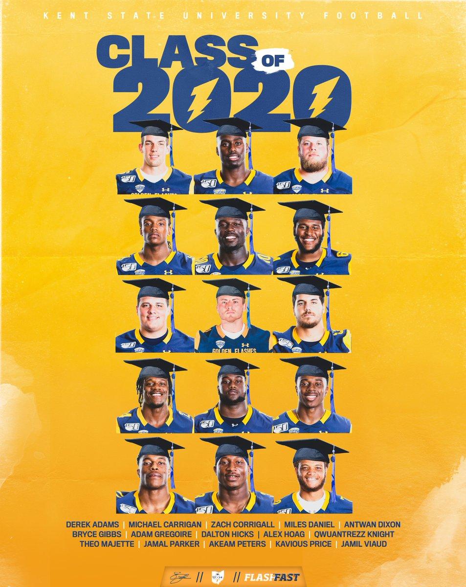 Forever a Golden Flash⚡️ Congrats to the Class of 2020! #FlashFAST | #BTA | @KentState