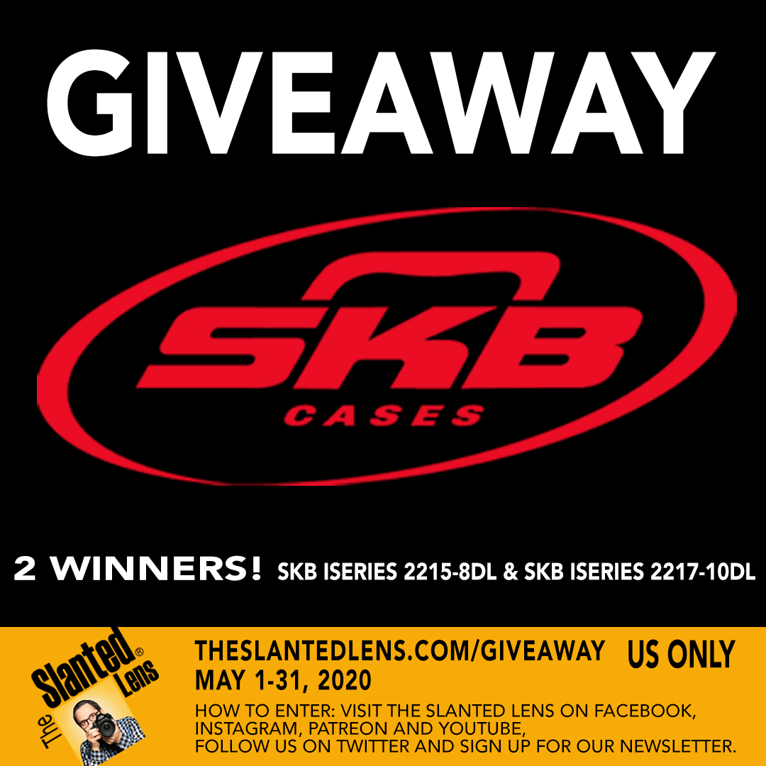 Dont miss out. Enter our GIVEAWAY! @SKBCases is giving away 2 cases to 2 lucky winners! You can enter on our website The Slanted Lens dot com at the giveaway tab. #giveaway #skbcases @theslantedlens #photo #video