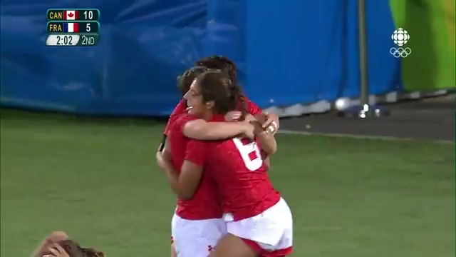 The quarter final winning try from @BFarella that guaranteed @RugbyCanada the chance to play for a medal in #Rio2016🏅🇨🇦 🎥 Watch Now: bit.ly/3fyKEP4