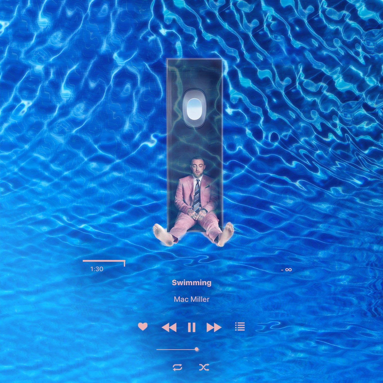 Camilo On Twitter Apple Music Aesthetic Design Lockscreen Part 5 2 5 Mac Miller Swimming