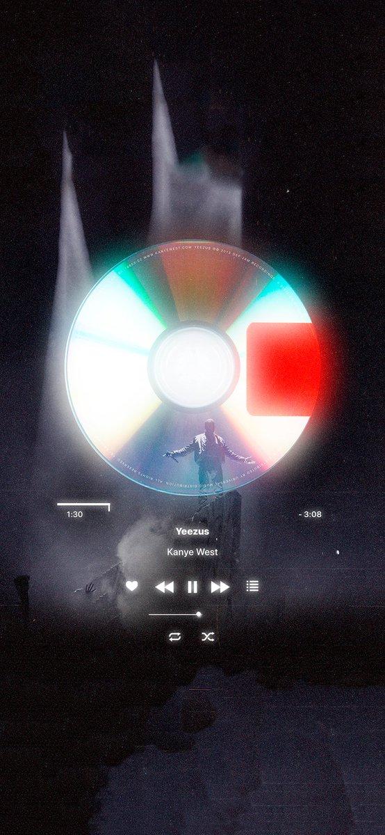 Camilo On Twitter Apple Music Aesthetic Design Lockscreen Part 5 1 5 Kanye West Yeezus
