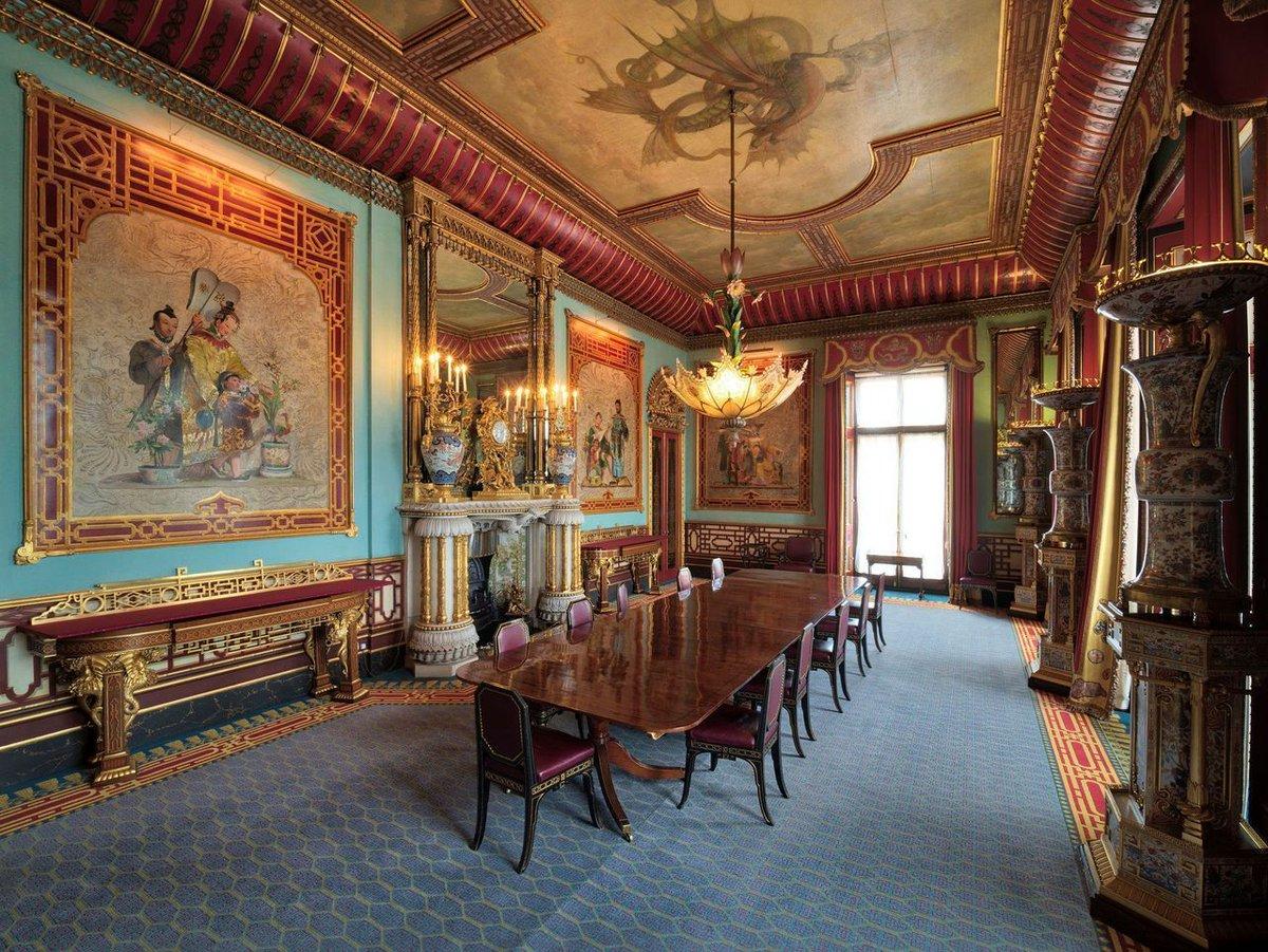 inside buckingham palace the queen's bedroom - HD1200×901