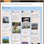 Image for the Tweet beginning: A #VirtualTour of #VirtualThailand during