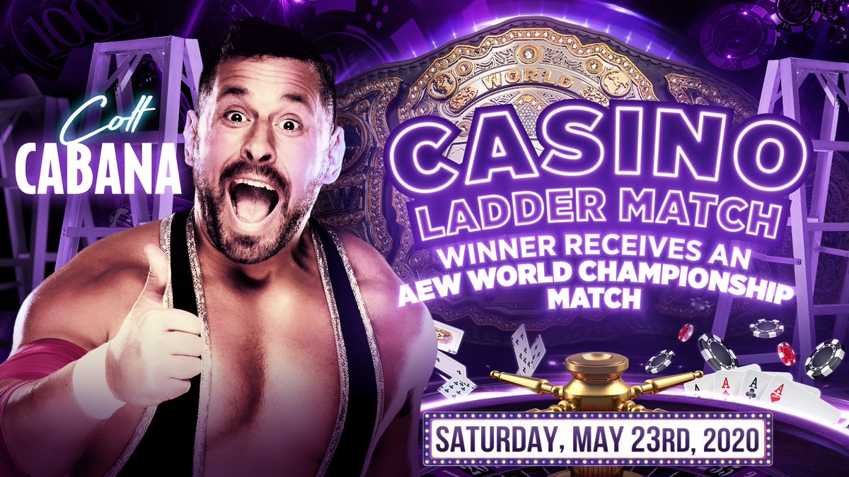 Colt Cabana Added To Casino Ladder Match At Double Or Nothing