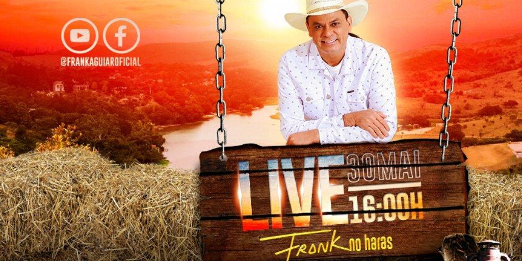Frank Aguiar | Live #FrankNoHaras - 30/05, às 16h (@FrankAguiar ...