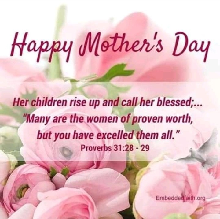 #One love  May all the mothers and all those nurture the Nation be blessed today https://t.co/rcPskQW5Eg