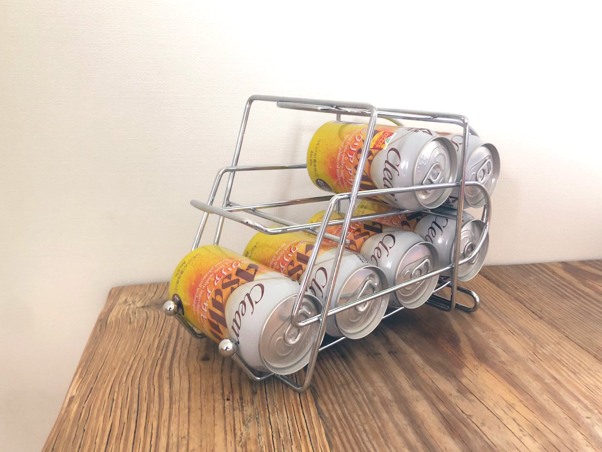 ストッカー ビール ダイソー「缶ストッカー」で縦収納を実現!便利なキッチングッズ