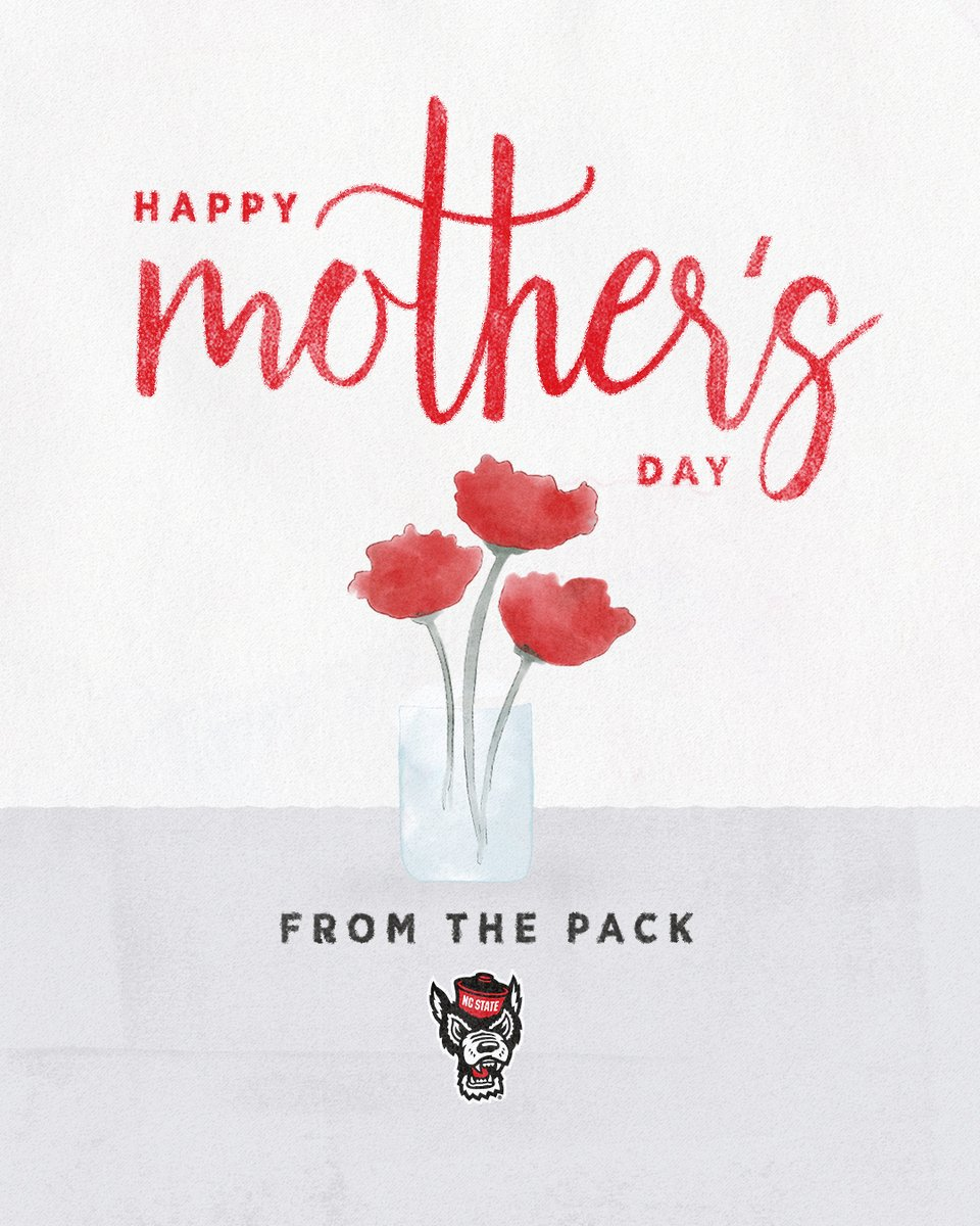 Wishing a very #HappyMothersDay to all of the moms and special women in our Pack ❤️ https://t.co/g7JggpcPUc
