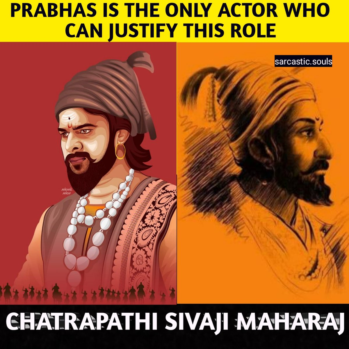 CHATRAPATHI SIVAJI MAHARAJ #Prabhas #sivaji #Maharashtra #ChatrapathiShivaji #Gujaratpic.twitter.com/dBFD9zSRHu