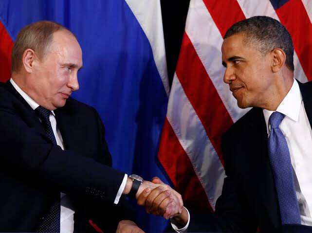 Just a reminder. Barack Hussein Obama was terrified to death of Vladimir Putin of Russia and President Xi of China. Why else would he not stop Russian and Chinese troops in the Middle East while ISIS was beheading Christians and Musilms everyday in Iraq and Syria?