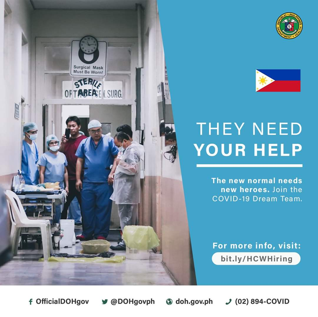 Department Of Health On Twitter We Are Hiring Doh Needs More