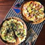 おうちじかんで簡単ご飯!餃子の皮でピザが作れる