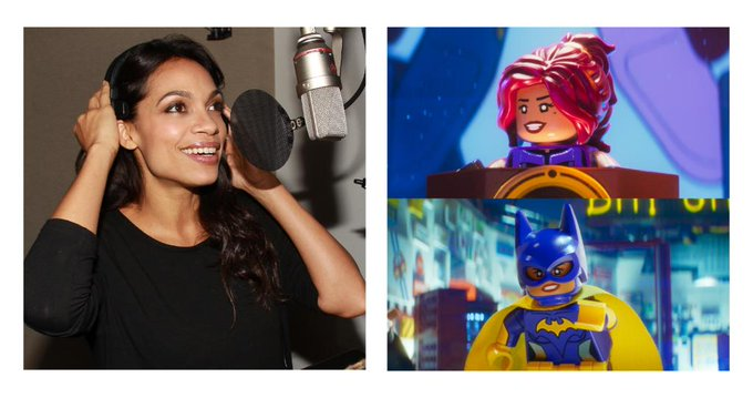 Happy Birthday to the voice of Batgirl, Rosario Dawson!