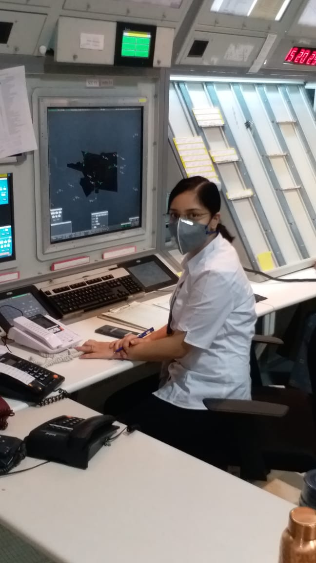 Air Traffic Controllers of #SVPIA working 24×7, contributing their services to the society and helping transportation of medical equipment and other logistics during this Contigency. #AAI_SVPIACares