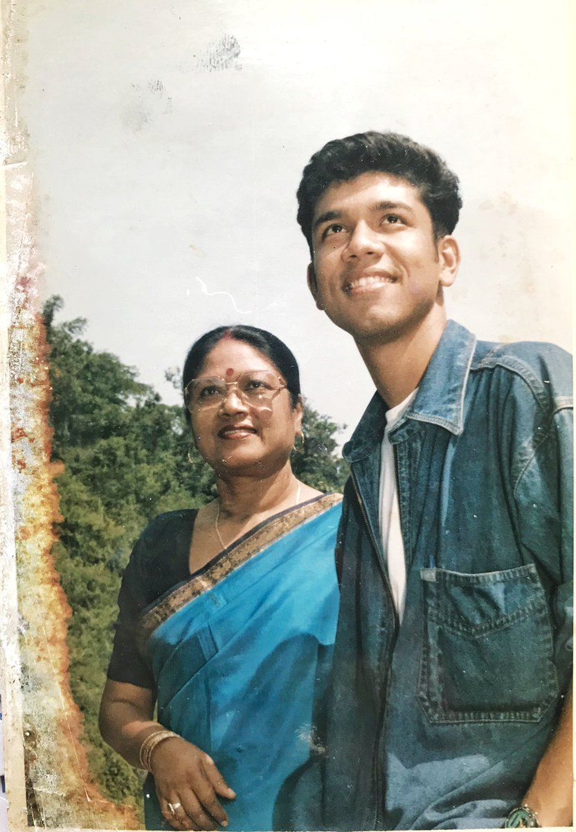 """papon angaraag on Twitter: """"On this day and everyday of my life! Pranaam  ?? and love ❤️ to my Guru, My Strength, My mother. Thank you for teaching  me the beautiful nuances"""