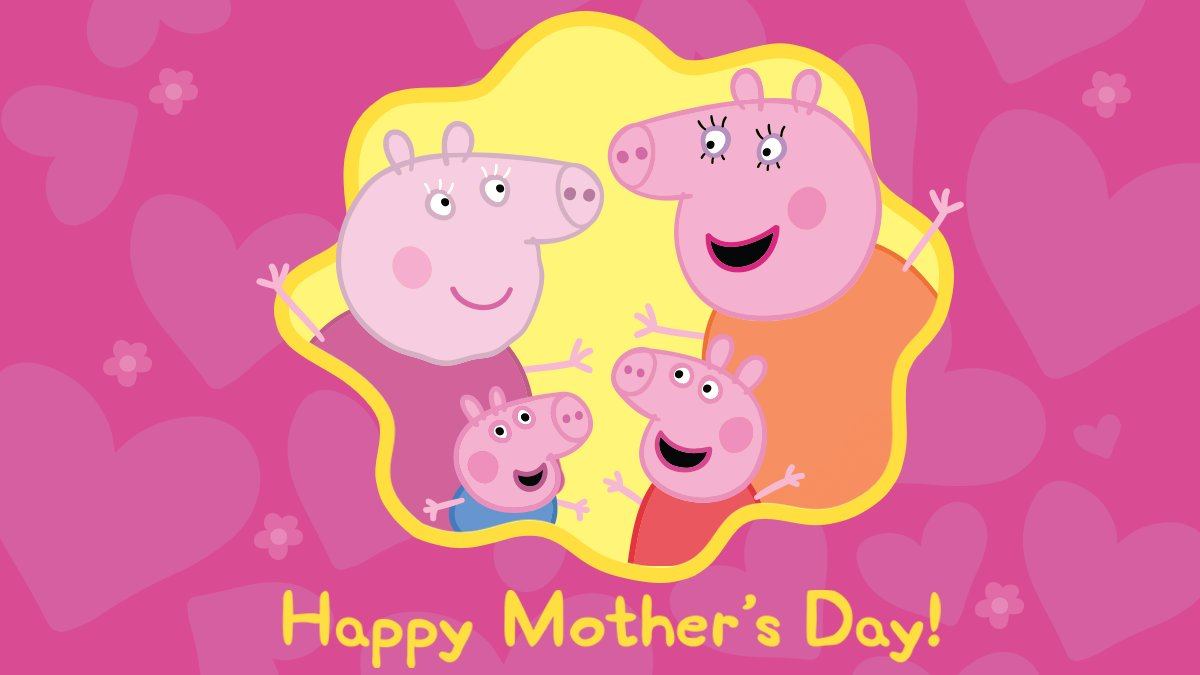💕 Wishing all the Mummy Pig's in the US a very happy Mother's Day 💕 https://t.co/AxFayPZPQh