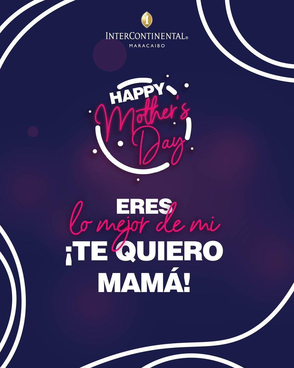 Amor de MADRE... Jamás en la vida encontrarás ternura mejor, más profunda, más desinteresada y verdadera que la de ELLA ¡Que todos los días sean su día! 💕 • • • 🎀𝓕𝓮𝓵𝓲𝔃 𝓭í𝓪 𝓭𝓮 𝓵𝓪𝓼 𝓶𝓪𝓭𝓻𝓮𝓼 🎀 #InterContinental #Maracaibo #Mayo #DiaDeLasMadres #10Mayo https://t.co/FfVE7STOQ5