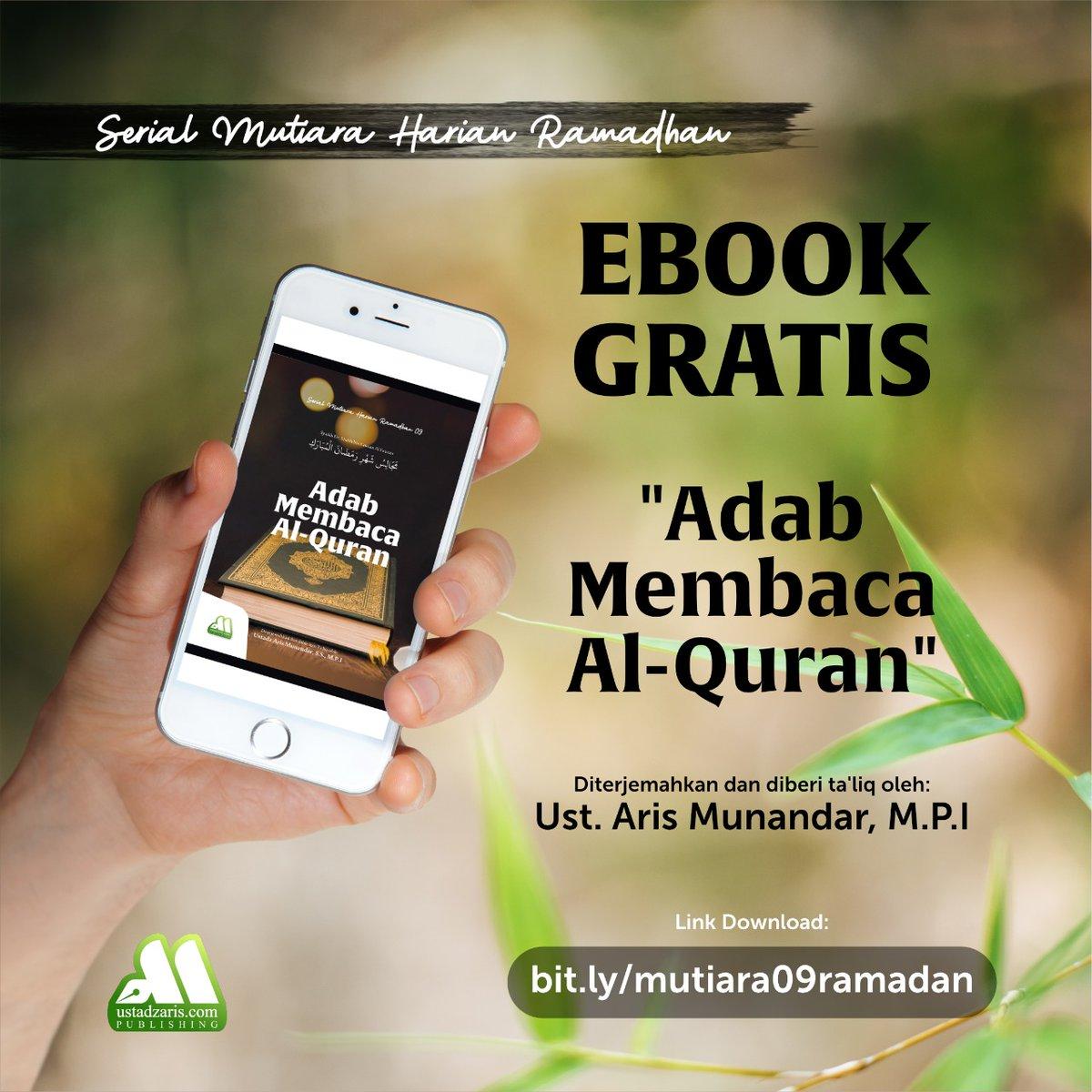📒Serial Mutiara Harian Ramadhan 09📒  ⬇️⬇️⬇️⬇️⬇️⬇️⬇️ Unduh E-Book di sini: https://t.co/i9fesGInxd  atau melalui link ini jika ingin melihat koleksi lain: https://t.co/OMwSIu8Cuf  Silahkan disebarluaskan. ↗️ https://t.co/202fOjMcxQ