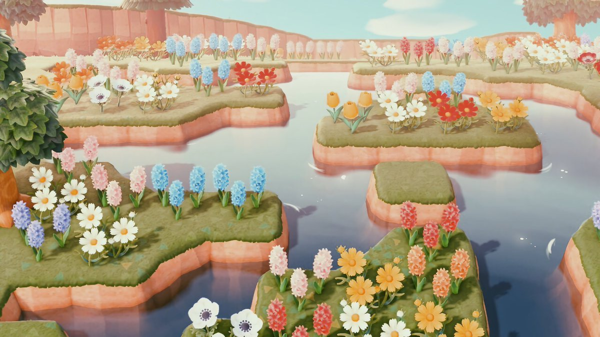 Yuuki On Twitter I Tried Recreating The Flower Field From Howl S Moving Castle Far From Perfect But I M Sorta Happy How It Turned Out Animalcrossing Acnh Howlsmovingcastle Studioghibli Https T Co Qczmb3tqxk