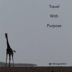 Image for the Tweet beginning: #travelwithpurpose What will we be