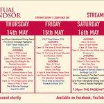 Image for the Tweet beginning: Virtual Windsor Show Week is