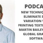 Image for the Tweet beginning: Textile printing: digital vs screen.