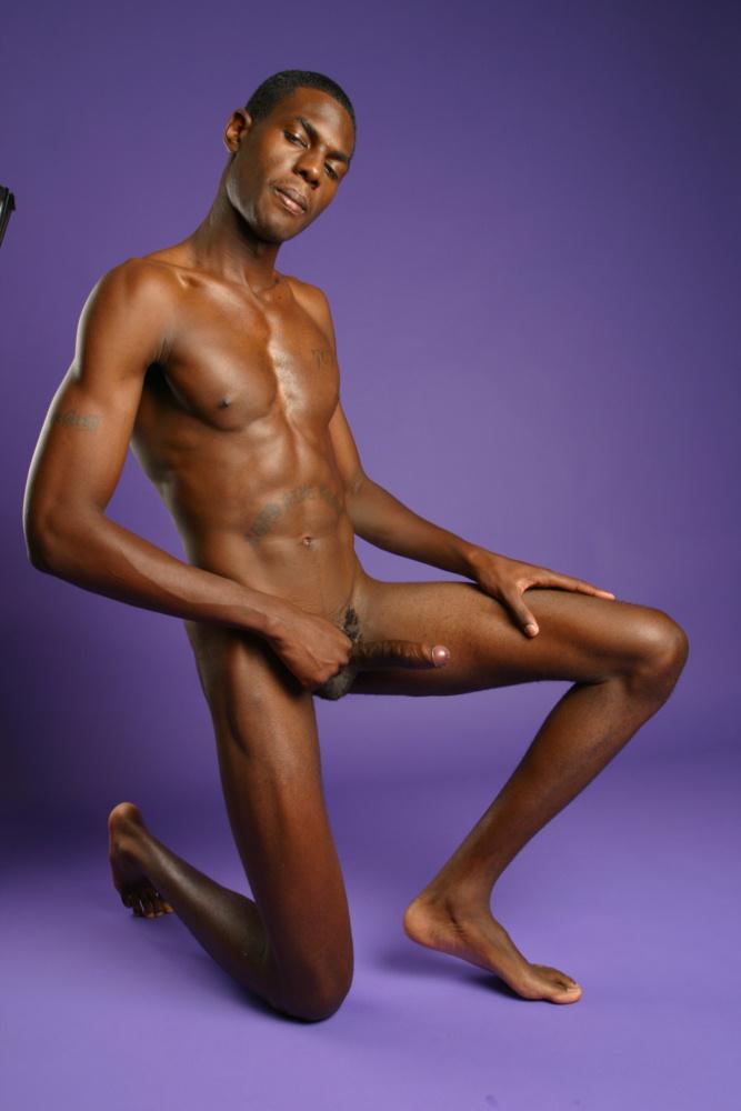 Naked black handsome men