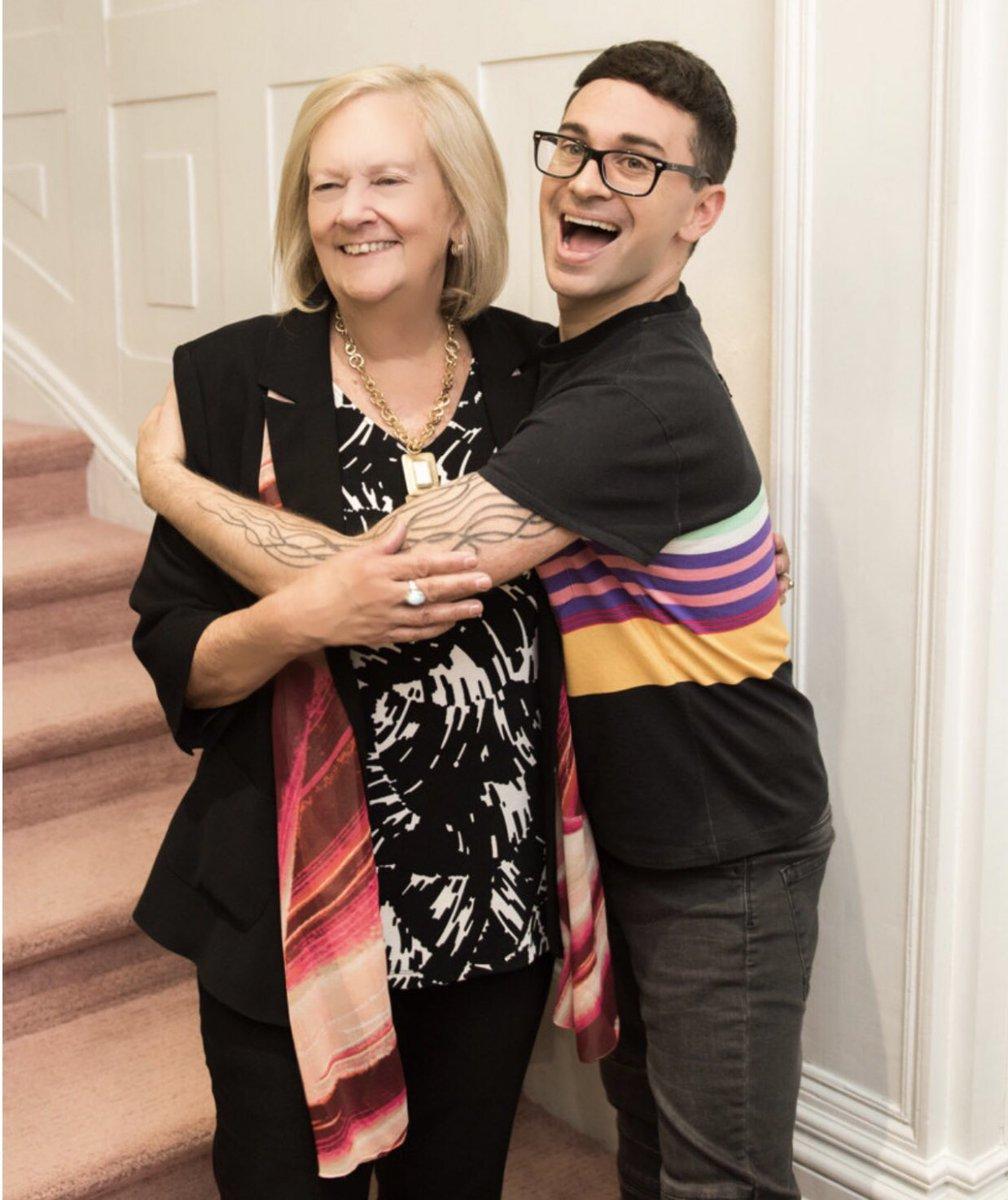 Photo of Christian Siriano  & his  Mother  Joye Siriano