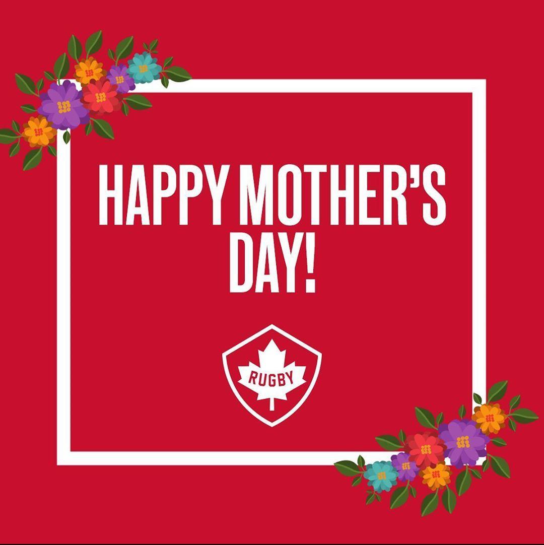 Happy Mothers Day to all the rugby moms who provide strength and support to their families, on and off the field. We celebrate you! 🏉🇨🇦 #RugbyCA