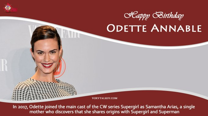 Happy Birthday Odette Annable.