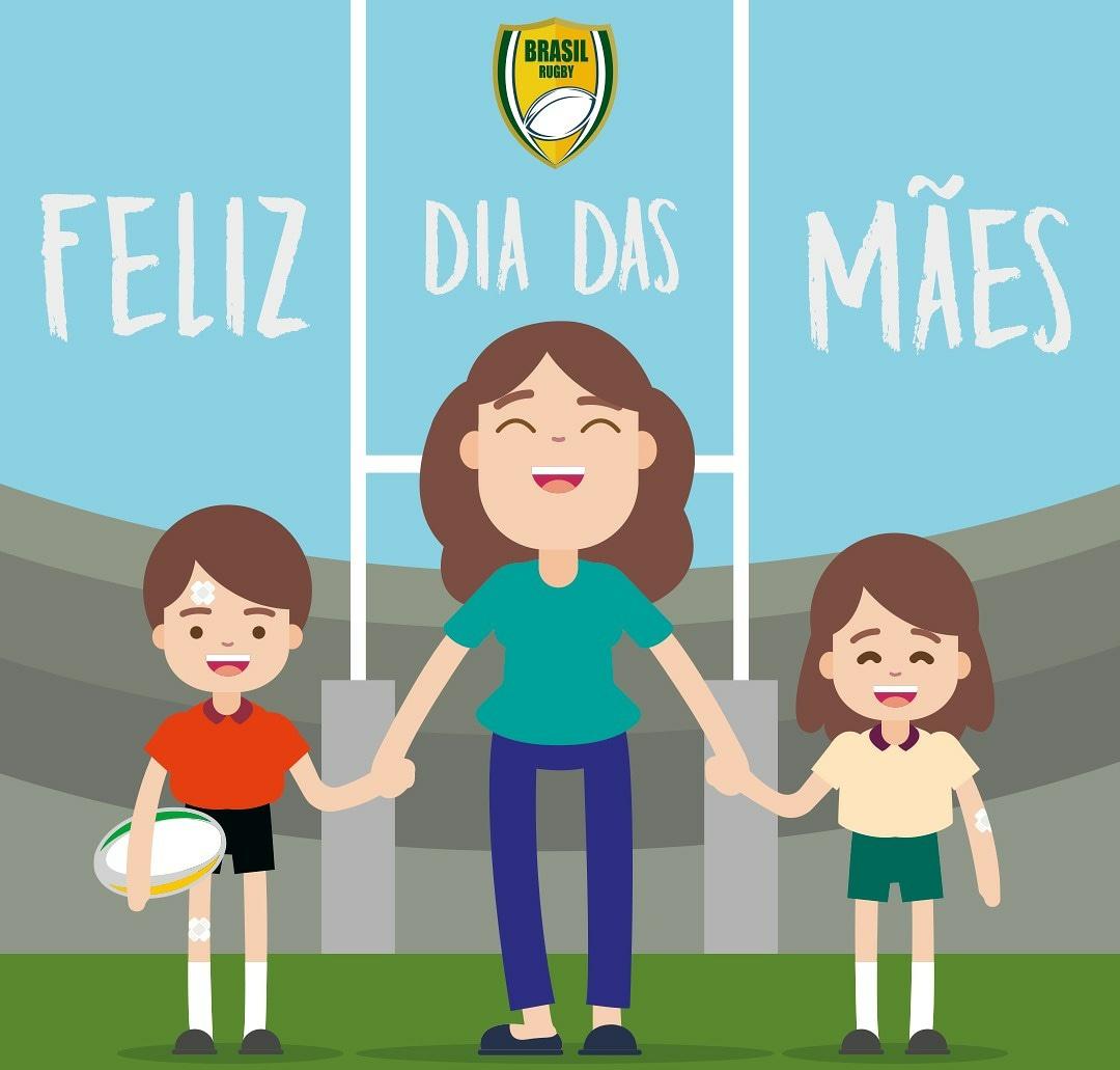 Neste Dia das Mães, queremos parabenizar todas as mulheres que marcam incontáveis tries no placar da dedicação. Porque entrar em campo e ser mãe, além de ser grande heroína, também é ser campeã! 💚💛🏉🏉 #BrasilRugby #DiaDasMaes #Mae #Rugby
