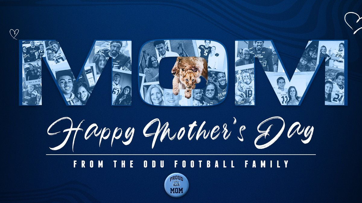 Wishing moms far and wide a very special #MothersDay #ReignOn | #ODUFB 🦁
