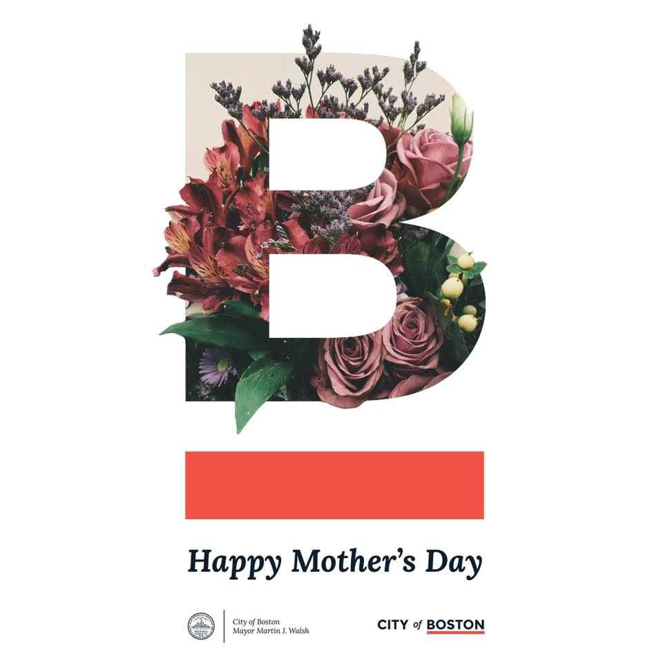 Happy #MothersDay, Boston. We wish for you a day of warmth, love, and appreciation.