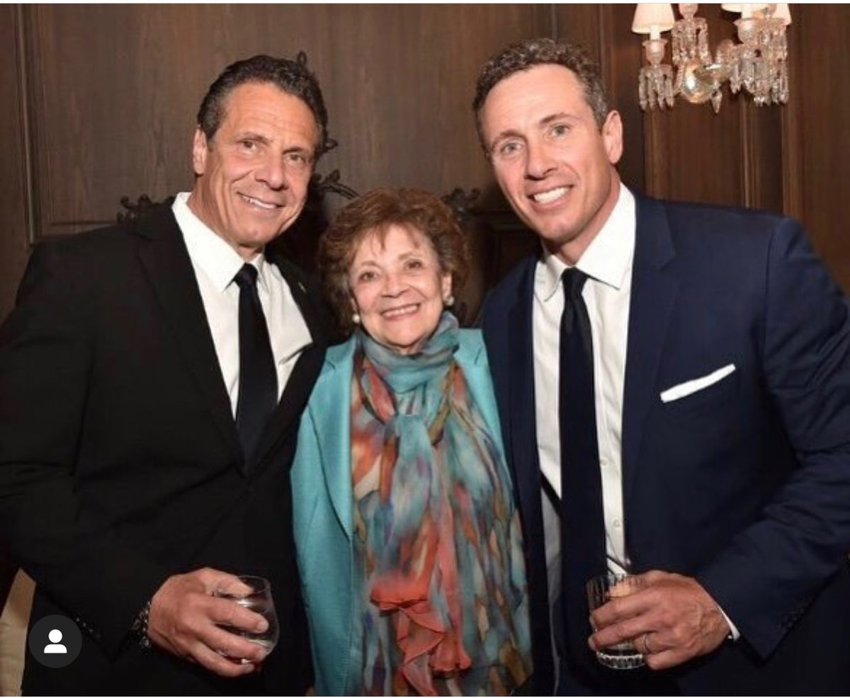 Happy Mother's Day, Mom. Love this photo of you with your favorite son, and @ChrisCuomo...