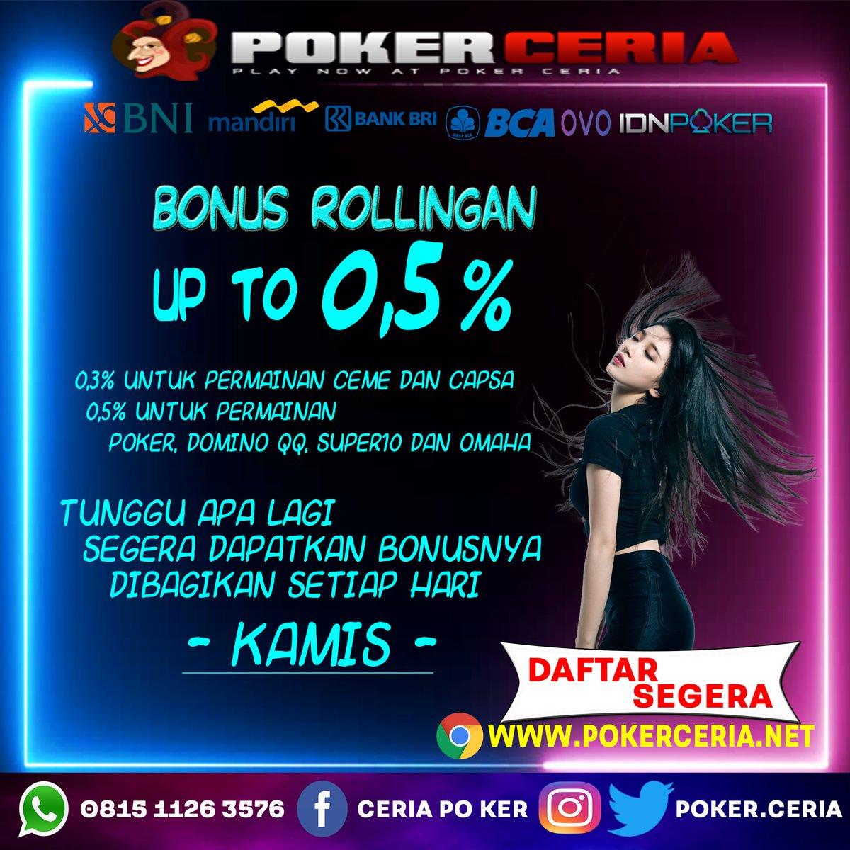 Poker Ceria Ceriapoker ট ইট র