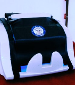 Automated UVC currency sanitising device NOTESCLEAN