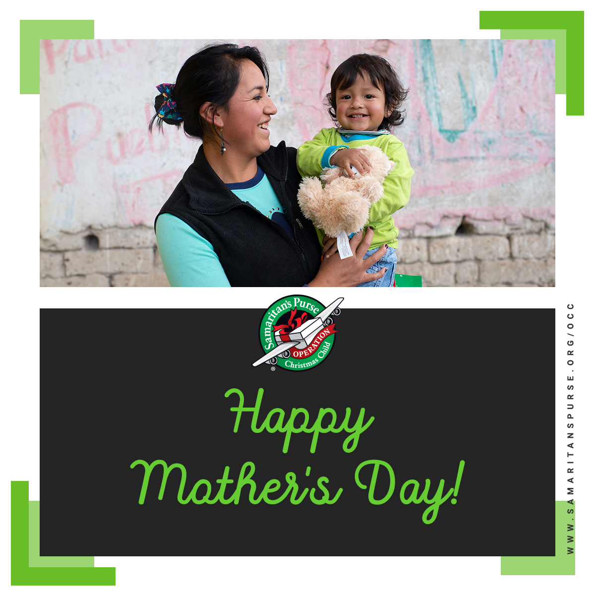 Happy #MothersDay from Operation Christmas Child!