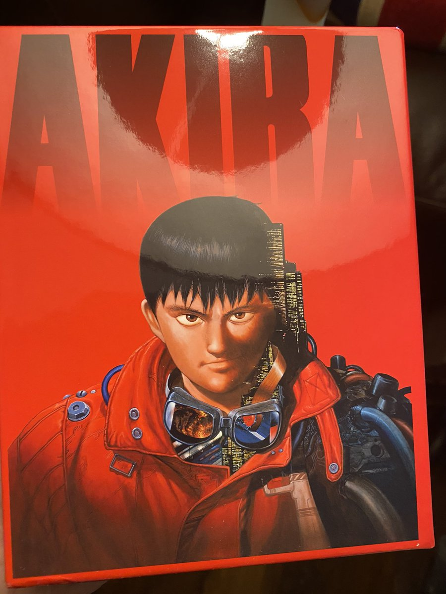 Uzivatel 4k Collective Na Twitteru The Afternoon Movie Was Bandai Visual Japan The New 4k Remastered 4k Ultrahd Blu Ray Of Akira Having Owned On Laserdisc Dvd And Blu Ray And Various Versions Of