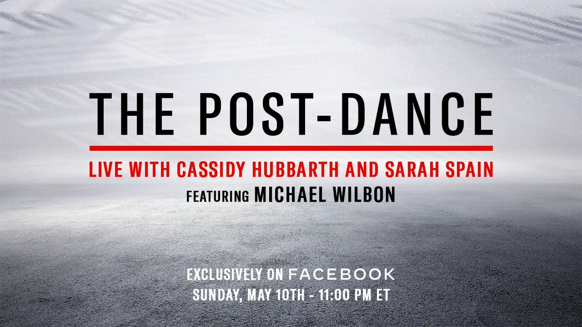Catch us tonight right after Episodes 7 and 8. @SarahSpain @CassidyHubbarth #TheLastDance