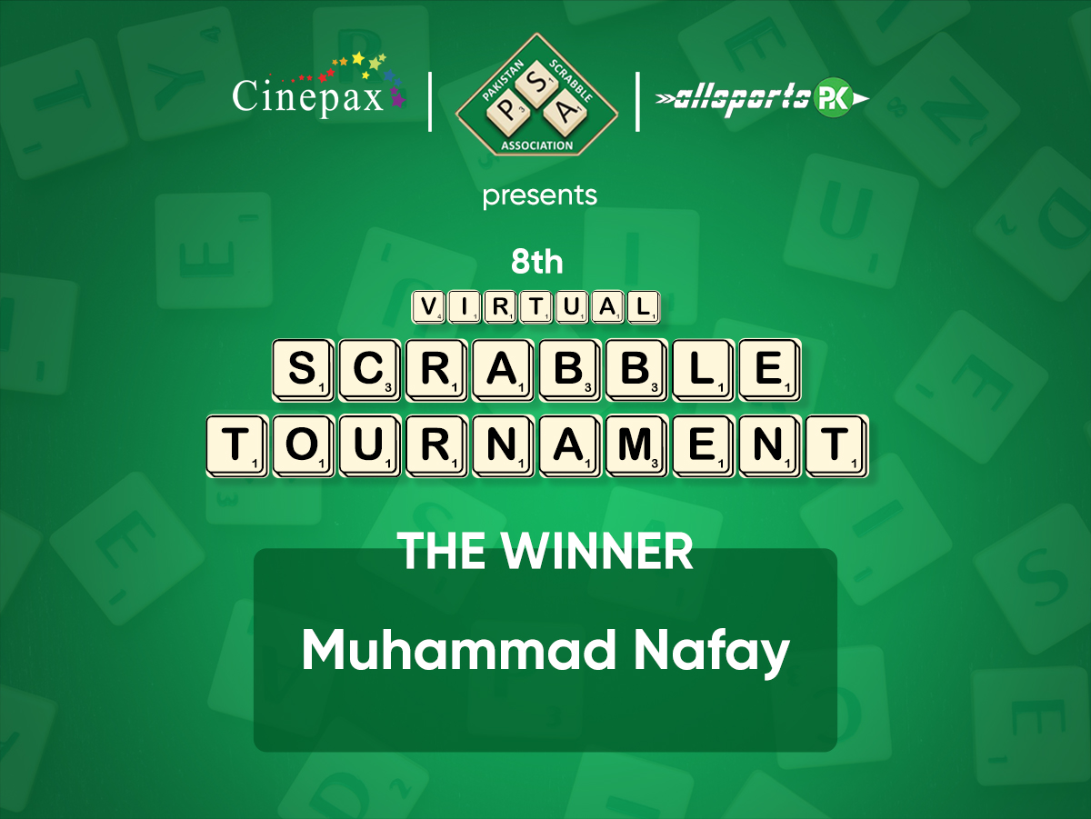 Congratulations on winning Virtual Scrabble Tournament held on 10th May, 2020.  https://t.co/EIklnzprcK  Stay tuned with @cinepax_cinema for Virtual Scrabble Tournament on each Sunday. https://t.co/WDnQ52Wqe8
